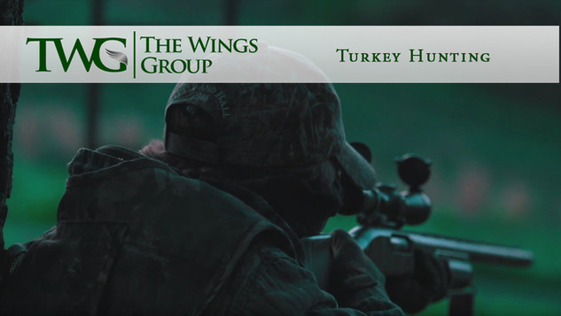 Turkey Hunting with The Wings Group