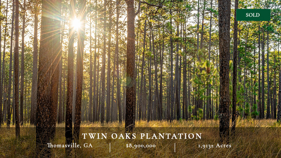 1,913± acres of some of the most historic and coveted plantation lands in the Red Hills.  Incredible location just five miles from downtown Thomasville, Georgia surrounded by other quail plantations.