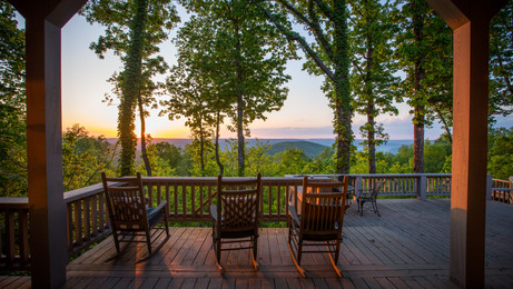 2,192± acres on Cumberland Plateau.  Exceptional main home with big views.  Very private.  Ecompassess all of Round Cove.  74,000± acres of adjacent protected lands.  Near Winchester and Sewanee, TN.  Excellent hunting.