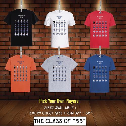 "RANGERS 55 SUBBUTEO STYLE DREAM TEAM ""CLASS OF 55"" UNISEX T-SHIRT"