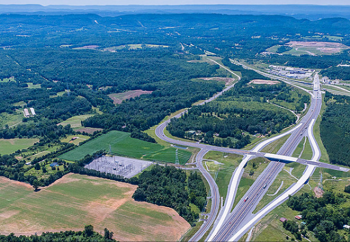 Located in an economically vibrant area of southeast Tennessee, this farm presents a very unique investment opportunity in a large tract of land that is ideally suited for industrial, commercial and residential development. The farm is located off of Cleveland's southern bypass and is only half a mile from Interstate 75's Exit 20. Of great importance is the fact that DOT has just built a new exit off of APD 40 (Highway 64 Bypass) that dumps right into the property. The state had to actually purchase 12 acres from the landowner to build this new exit. The property has lots of open land and good topography