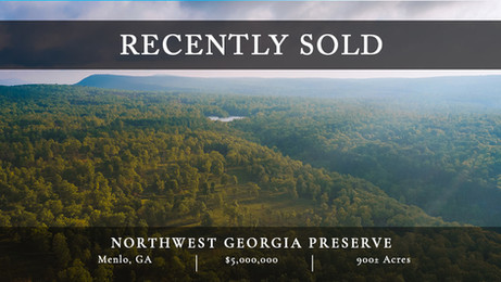 Northwest Georgia Preserve is an incredibly unique 900± acre property located where Lookout Mountain and Pigeon Mountain meet. A core piece of the former 11,000-acre Mountain Cove Farms, this property is now surrounded by protected state-owned lands.