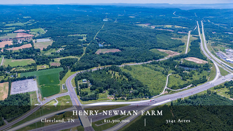 Located in an economically vibrant area of southeast Tennessee, this farm presents a very unique investment opportunity in a large tract of land that is ideally suited for industrial, commercial and residential development.