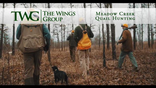Meadow Creek Quail Hunting