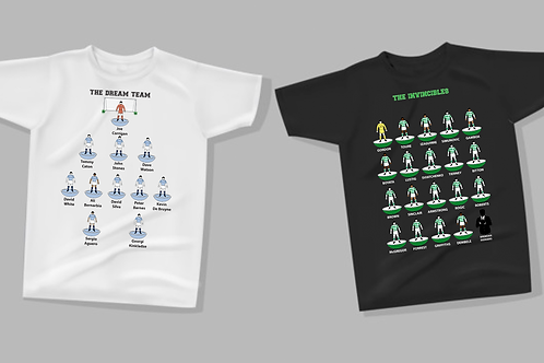 SUBBUTEO STYLE DREAM TEAM T-SHIRTS ( TEAMS RO - YO )
