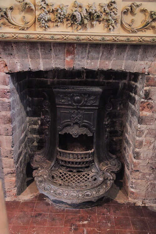 French fireplace insert.