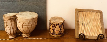 Donated African Percussion Instruments