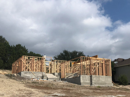 First level framing is completed.