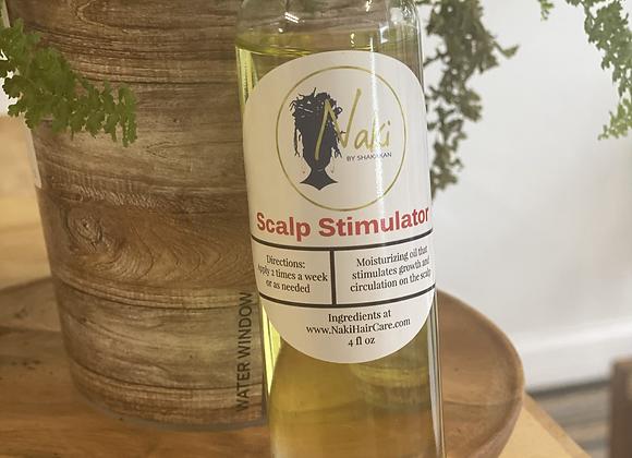 Peppermint Scalp Stimulation
