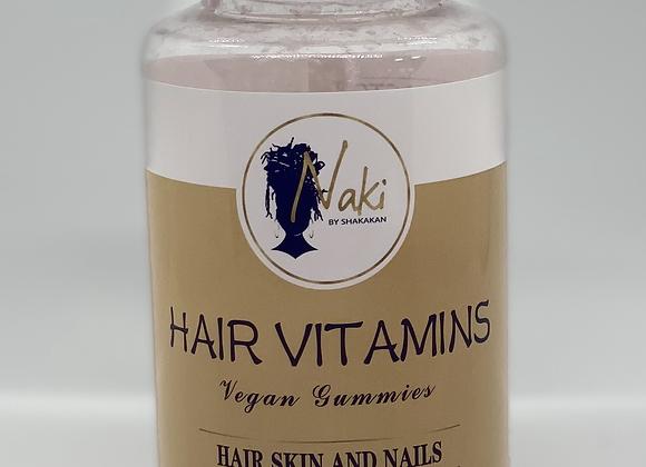 Naki Hair Vegan Vitamins