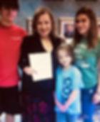 Linda Cavazos with Grandkids