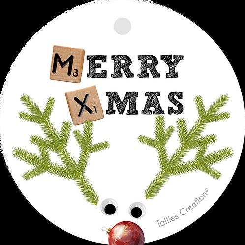 Merry Christmas - Plant - set van 5 kaarten