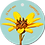Thumbnail: Toppertje - Flowerpower - set van 5 kaarten
