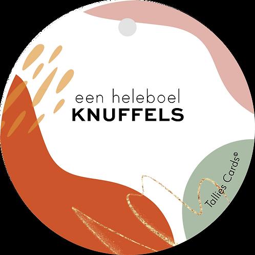 Knuffels - Abstract - set van 5 kaarten