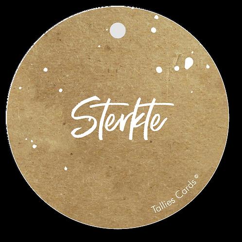 Sterkte - Kraft Look a Like - set van 5 kaarten