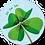 Thumbnail: Toi toi toi - Flowerpower - set van 5 kaarten