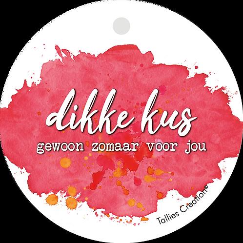 Dikke Kus - Aquarel - set van 5 kaarten