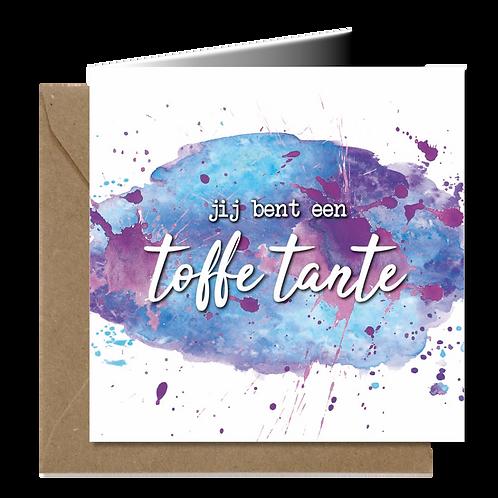Toffe Tante - Aquarel wenskaarten