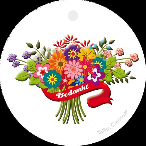 Bos bloemen - Primo - set van 5 kaarten