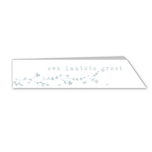 Laatste Groet - blue (10x)