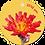 Thumbnail: Love you - Flowerpower - set van 5 kaarten