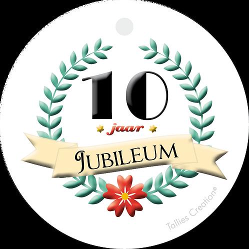 Jubileum 10 jaar - Primo - set van 5 kaarten