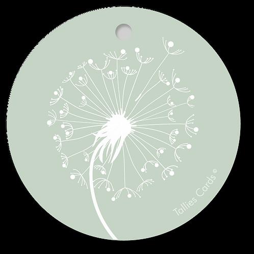 Paardenbloem groen - PrimoFiori - set van 5 kaarten