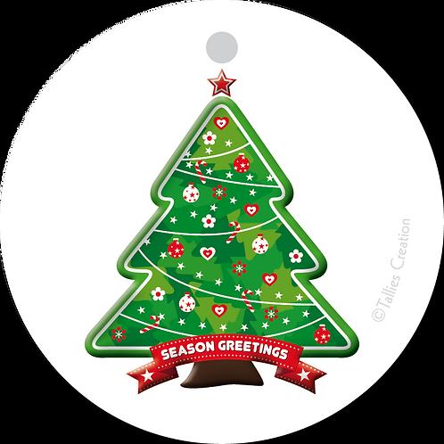 Season greetings - Primo - set van 5 kaarten