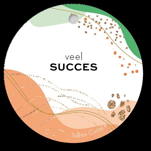 Succes - Abstract - set van 5 kaarten