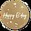 Thumbnail: Happy B'day - Kraft Look a Like - set van 5 kaarten