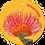 Thumbnail: Gefeliciteerd - Flowerpower - set van 5 kaarten