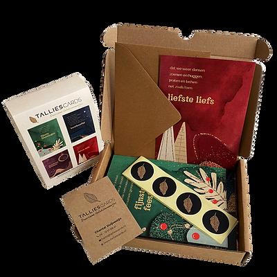 Decemberbox - December wenskaarten