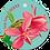Thumbnail: Hiep hiep hoera - Flowerpower - set van 5 kaarten
