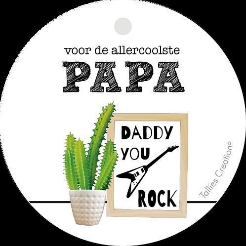 Papa - Plant - set van 5 kaarten