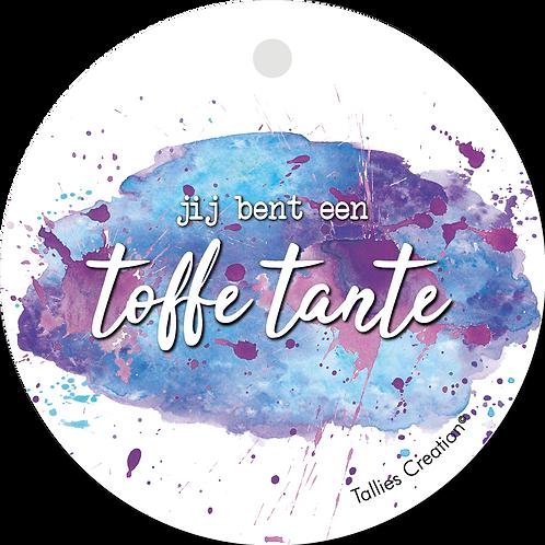 Toffe Tante - Aquarel - set van 5 kaarten