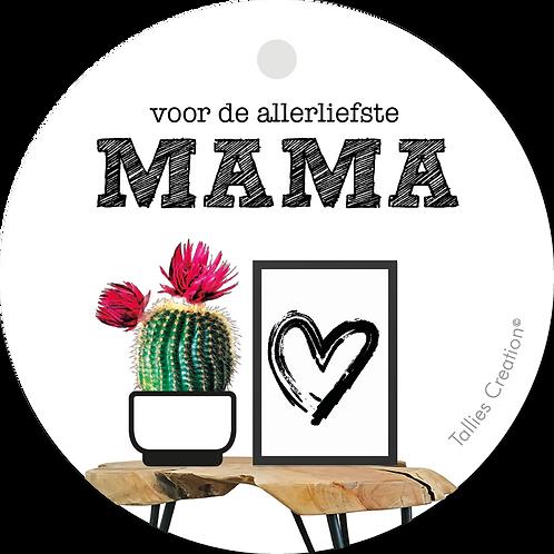 Mama - Plant - set van 5 kaarten