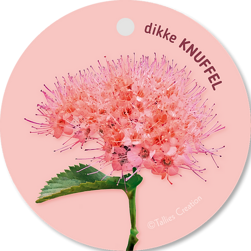 Dikke knuffel - Flowerpower - set van 5 kaarten