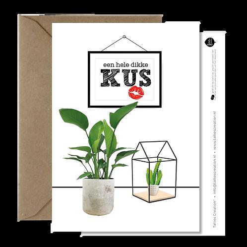 Kus - Plant wenskaarten