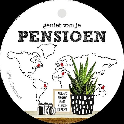 Pensioen - Plant - set van 5 kaarten