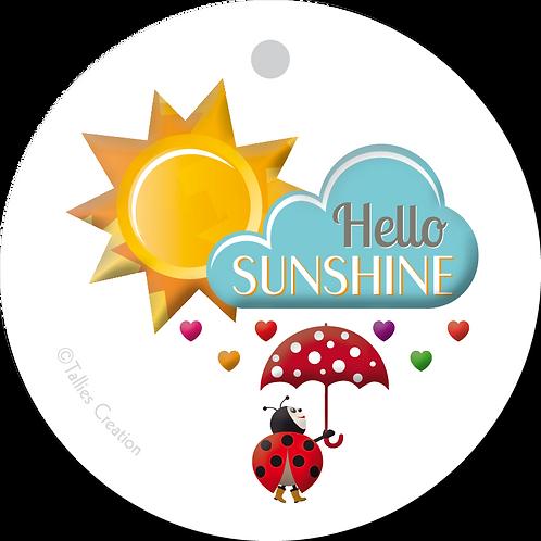 Hello Sunshine - Primo - set van 5 kaarten