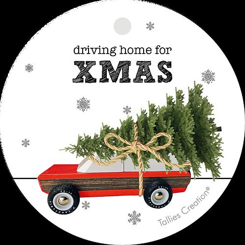 Driving home for XMAS - Plant - set van 5 kaarten