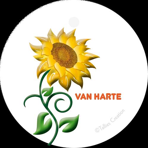 Van Harte - PrimoFiori - set van 5 kaarten