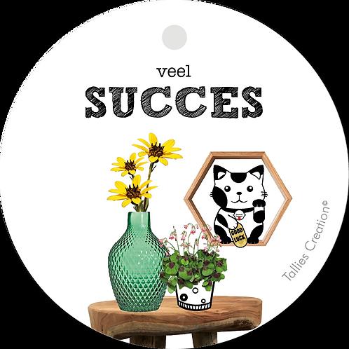Succes - Plant - set van 5 kaarten