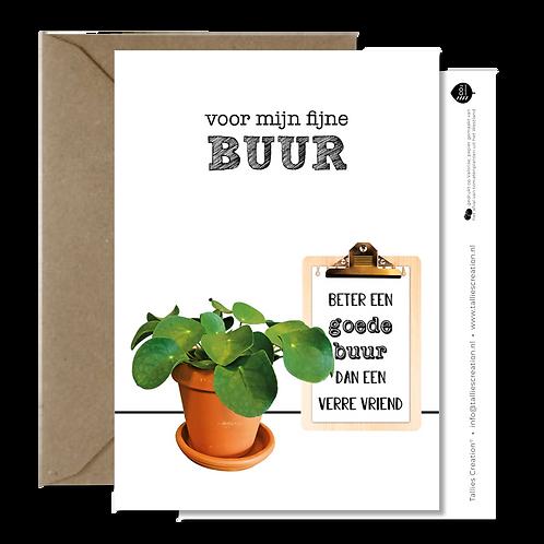 Buur - Plant wenskaarten