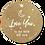 Thumbnail: Love you 2 the moon and back - Kraft Look a Like - set van 5 kaarten