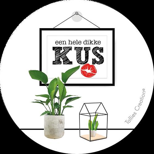 Kus - Plant - set van 5 kaarten
