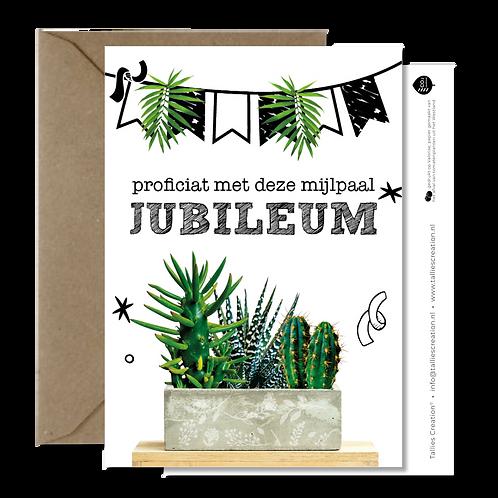 Jubileum - Plant wenskaarten