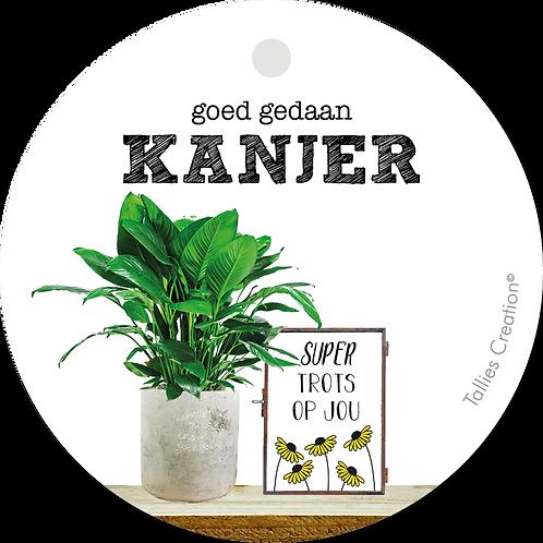 Kanjer - Plant - set van 5 kaarten