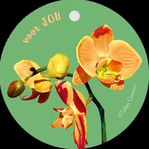 Voor jou - Flowerpower - set van 5 kaarten