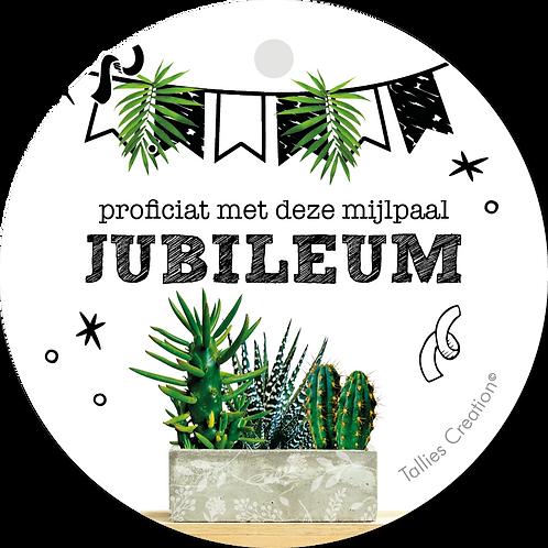 Jubileum - Plant - set van 5 kaarten